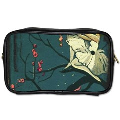 Girl And Flowers Toiletries Bag (one Side)