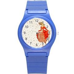 Background 1426676 1920 Round Plastic Sport Watch (s) by vintage2030