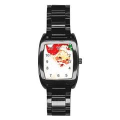Santa Claus 1827265 1920 Stainless Steel Barrel Watch
