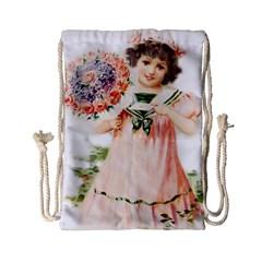 Girl 1731727 1920 Drawstring Bag (small)