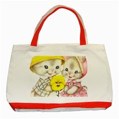 Rabbits 1731749 1920 Classic Tote Bag (red)