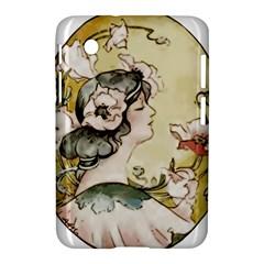 Lady 1650603 1920 Samsung Galaxy Tab 2 (7 ) P3100 Hardshell Case