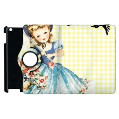Girl 1370912 1280 Apple Ipad 3/4 Flip 360 Case