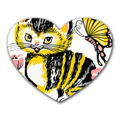 Cat 1348502 1920 Heart Mousepads