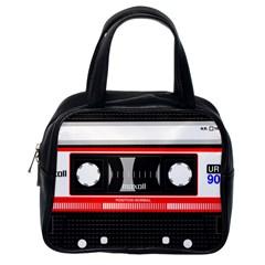 Compact Cassette Classic Handbag (one Side)