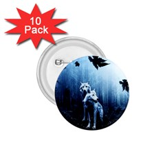 Wolfs 1 75  Buttons (10 Pack)