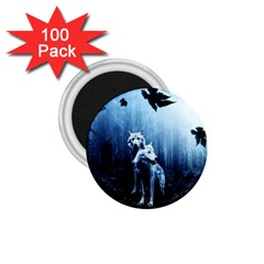Wolfs 1 75  Magnets (100 Pack)