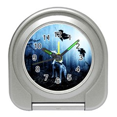Wolfs Travel Alarm Clock