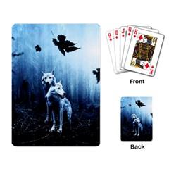 Wolfs Playing Card