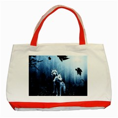 Wolfs Classic Tote Bag (red)