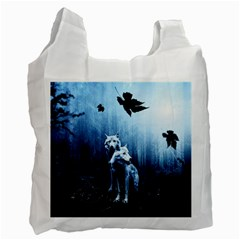 Wolfs Recycle Bag (one Side)