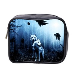 Wolfs Mini Toiletries Bag (two Sides)