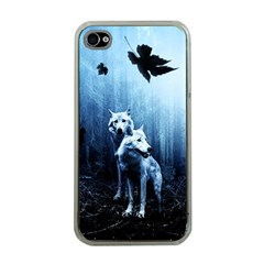 Wolfs Apple Iphone 4 Case (clear)