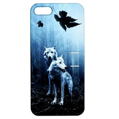 Wolfs Apple Iphone 5 Hardshell Case With Stand