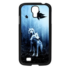 Wolfs Samsung Galaxy S4 I9500/ I9505 Case (black)