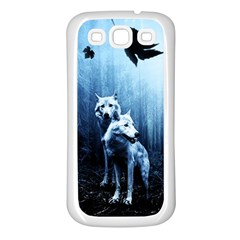 Wolfs Samsung Galaxy S3 Back Case (white)
