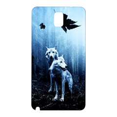 Wolfs Samsung Galaxy Note 3 N9005 Hardshell Back Case