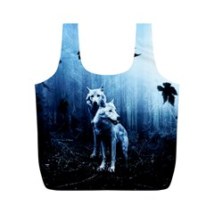Wolfs Full Print Recycle Bag (m)