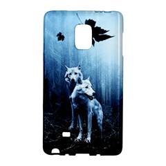 Wolfs Samsung Galaxy Note Edge Hardshell Case