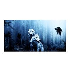 Wolfs Satin Wrap