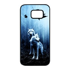 Wolfs Samsung Galaxy S7 Edge Black Seamless Case
