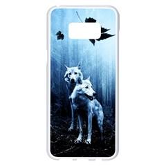 Wolfs Samsung Galaxy S8 Plus White Seamless Case
