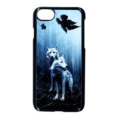Wolfs Apple Iphone 8 Seamless Case (black)