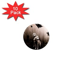 Wolfs 1  Mini Magnet (10 Pack)