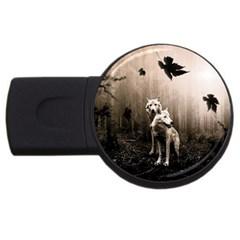 Wolfs Usb Flash Drive Round (2 Gb)