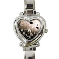 Wolfs Heart Italian Charm Watch