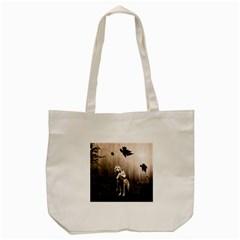 Wolfs Tote Bag (cream)