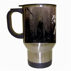 Wolfs Travel Mugs (white)