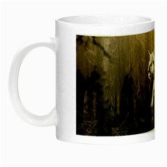 Wolfs Night Luminous Mugs
