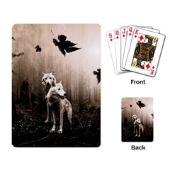 Wolfs Playing Card