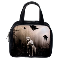 Wolfs Classic Handbag (one Side)