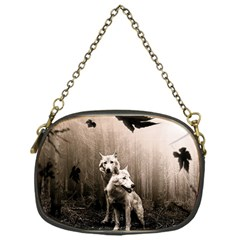 Wolfs Chain Purse (one Side)