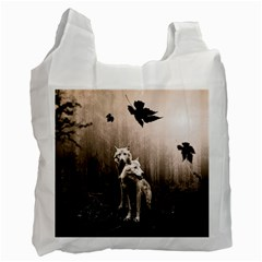 Wolfs Recycle Bag (two Side)