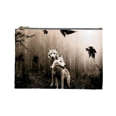 Wolfs Cosmetic Bag (large)