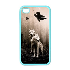 Wolfs Apple Iphone 4 Case (color)