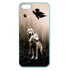Wolfs Apple Seamless Iphone 5 Case (color)