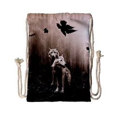 Wolfs Drawstring Bag (small)