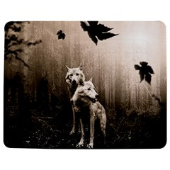 Wolfs Jigsaw Puzzle Photo Stand (rectangular)