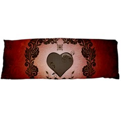 Wonderful Heart With Decorative Elements Body Pillow Case (dakimakura) by FantasyWorld7