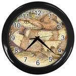 transpecos copperhead11 Wall Clock (Black)