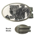 wwolf21 Money Clip (Oval)