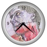 dawn of the dead Wall Clock (Silver)