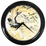 cheetah Wall Clock (Black)
