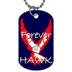 Forever A Hawk Dog Tag (one side)