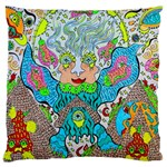 Angel Pyramid Blaster Large Cushion Case (Two Sides)