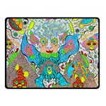 Angel Pyramid Blaster Double Sided Fleece Blanket (Small)